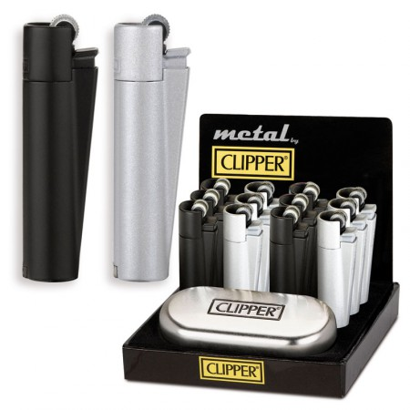 CLIPPER METAL BLACK & GREY