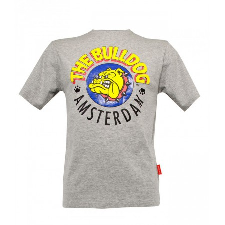 THE BULLDOG T-SHIRT GRIGIA