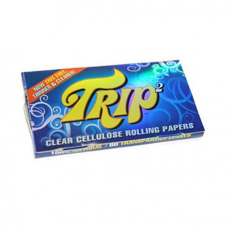 TRIP2 CLEAR ROLLING PAPERS 1 1/4 - CARTINA TRASPARENTE