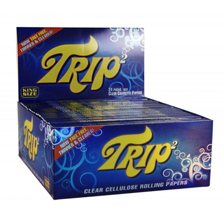 TRIP2 CLEAR ROLLING PAPERS KS - CARTINA TRASPARENTE