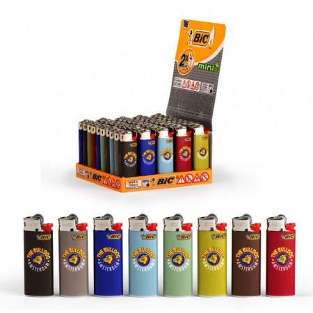 "ACCENDINO BIC MINI ""SEVENTIES"" THE BULLDOG LIMITED EDITION"