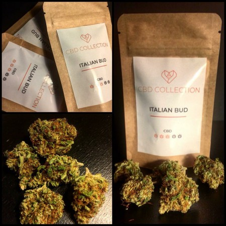 ITALIAN BUD 2gr (CBD 7%-10%) - CBD Collection