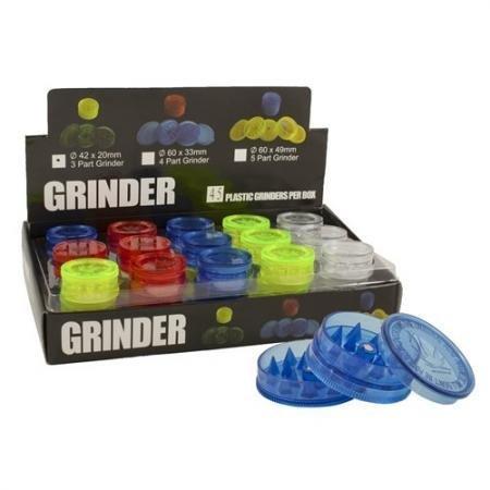 GRINDER PLASTICA 3Parti 4,2CM