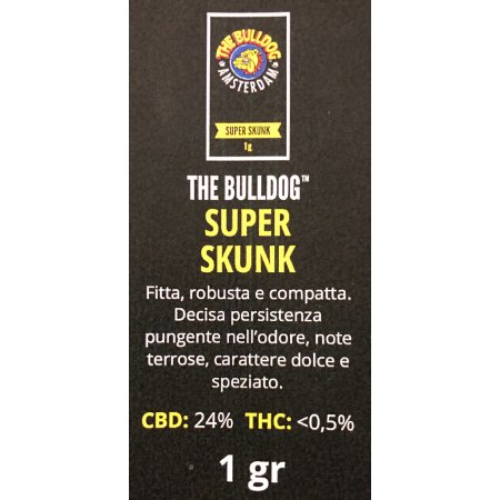 SUPER SKUNK (CBD 24%) - The Bulldog