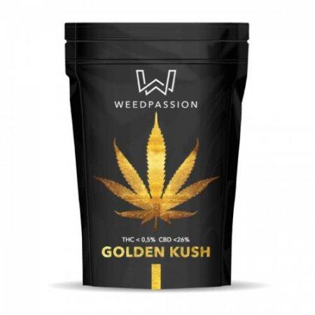 GOLDEN KUSH 1gr (CBD max 26%) - WeedPassion
