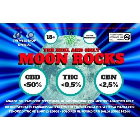 MOON ROCK (CBD minore di 50%) - TheWeedShop