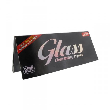 GLASS CLEAR ROLLING PAPERS KS - CARTINA TRASPARENTE