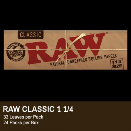RAW CLASSIC CARTINA 1 1/4