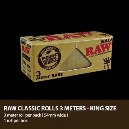 RAW CLASSIC ROLLS KS 3M