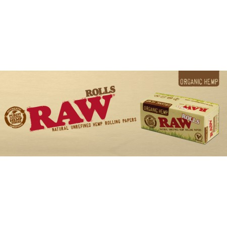 RAW ORGANIC HEMP ROLLS KS 5M