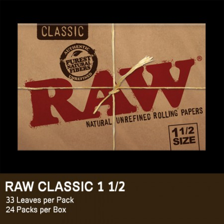RAW CLASSIC CARTINA 1 1/2