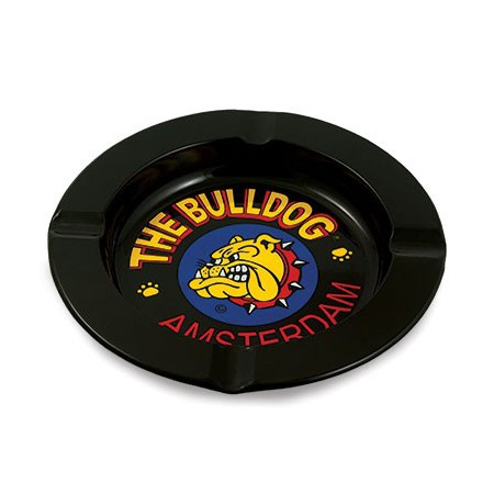 THE BULLDOG POSACENERE TIN ASHTRAY