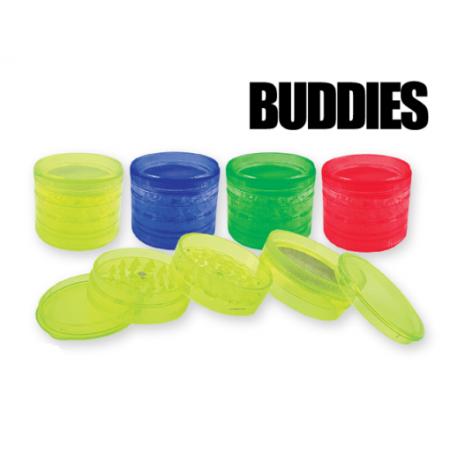 GRINDER PLASTICA BUDDIES 5 Parti 6CM