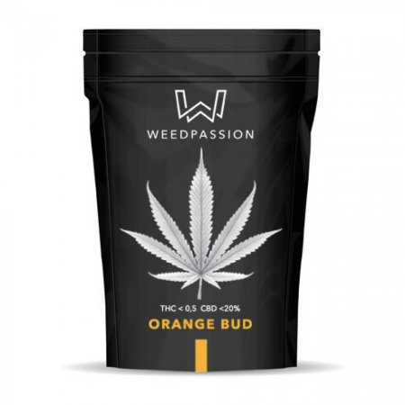 ORANGE BUD 1gr (CBD max 20%) - WeedPassion
