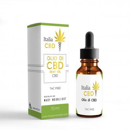 CBD OIL 20% THC Free (10ML) - MaryMoonlight